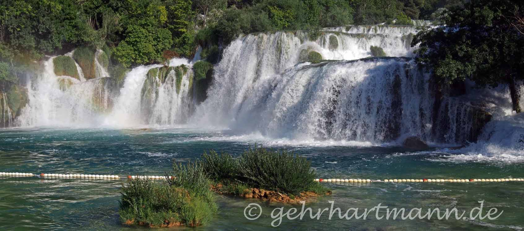 Wasserfälle in Nationalpark Krka